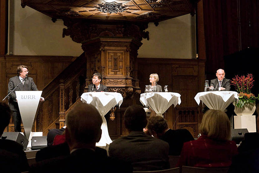 Debate with dr. Ha-Joon Chang, dr. Nancy Birdsall, dr. Herman Wijffels