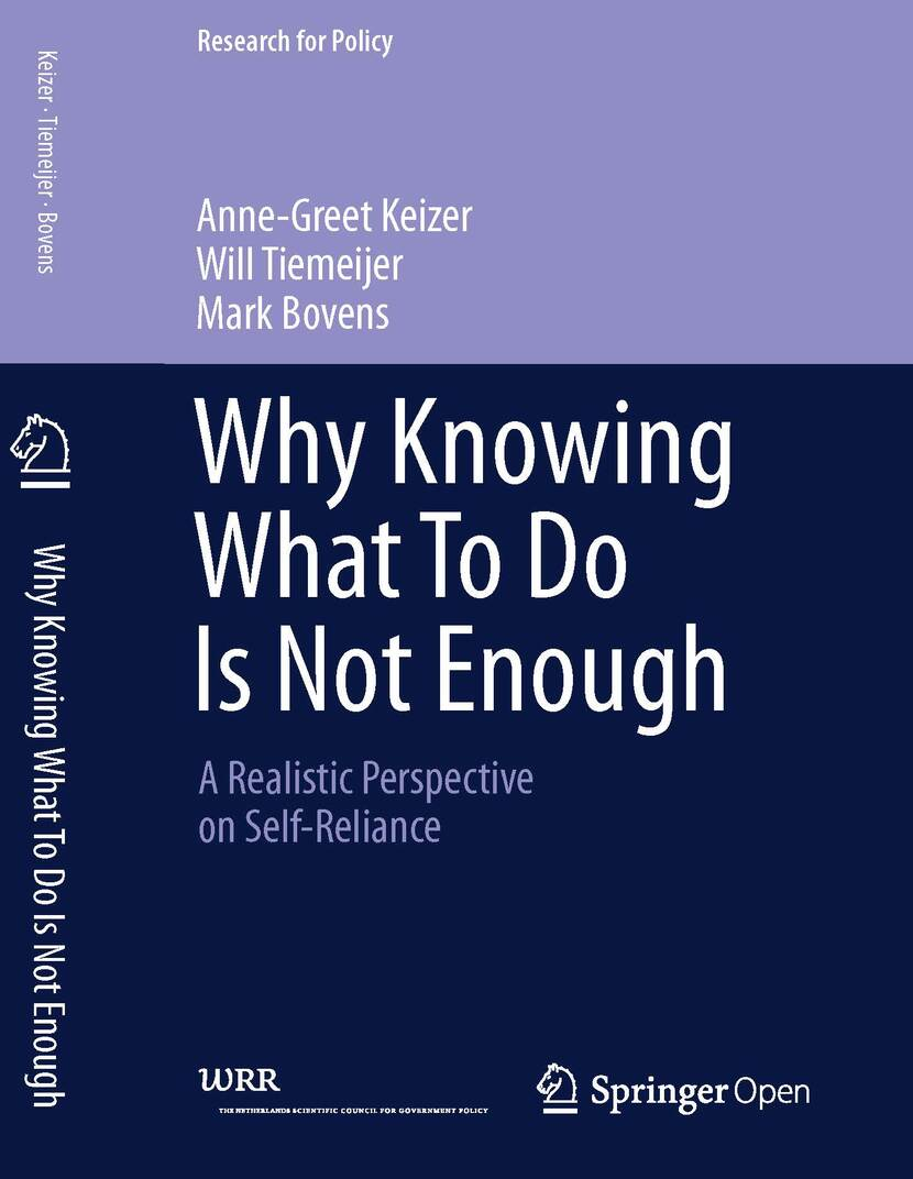 Cover Why Knowing What To do Is Not Enough